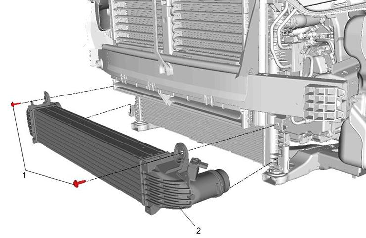 Condiciones de humedad de enfriador de aire de carga