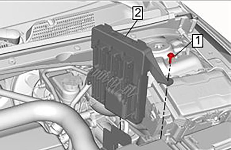 Verifique si hay bajo voltaje o pérdida de energía/tierra durante el diagnóstico del ECM
