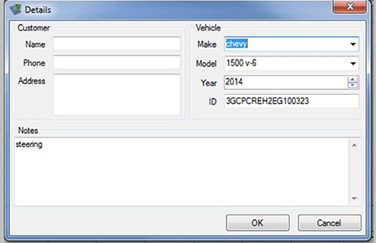 Asistencia de TAC con diagnóstico de vibración del vehículo